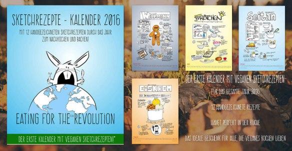 sketchkalender umsturz vegan